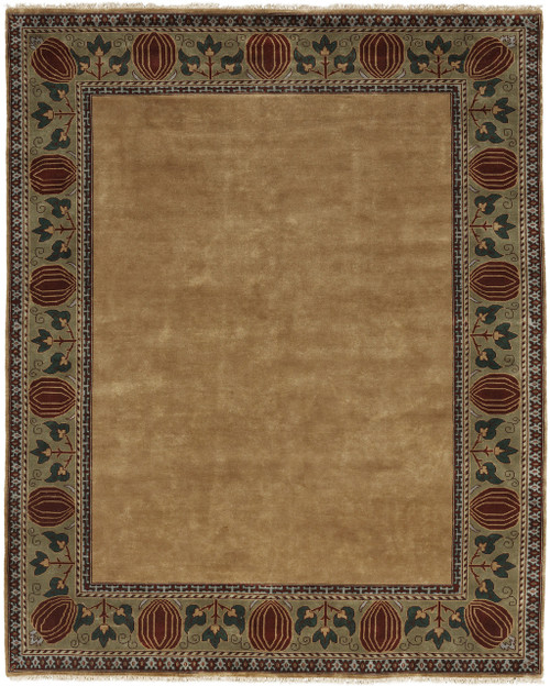 The Oak Park Border Rug