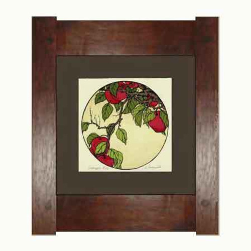 Framed Crabapple Print