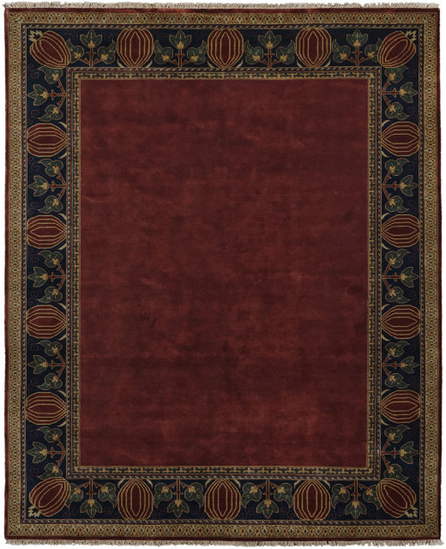 Awesome Oak Park Border Rug PC 7C