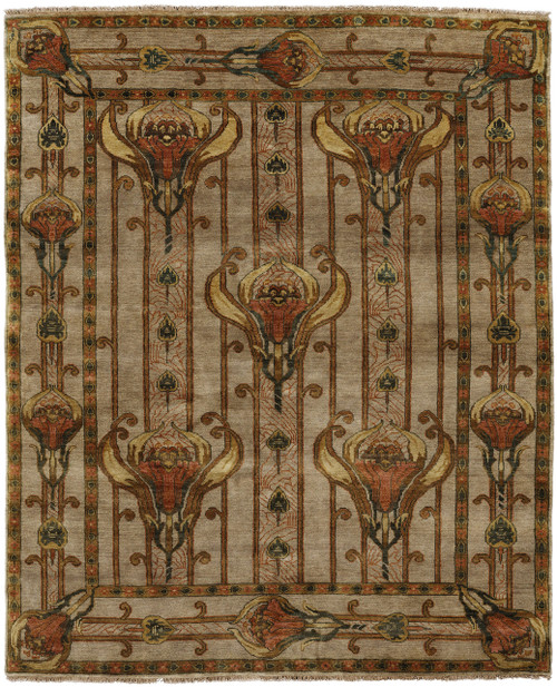Charming Field Lily Rug