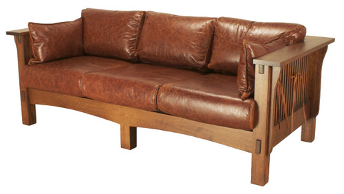American Mission Spindle Sofa AMW-1003