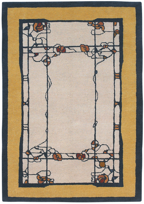 Craftsman Pasadena Parchment Rug The Mission Motif