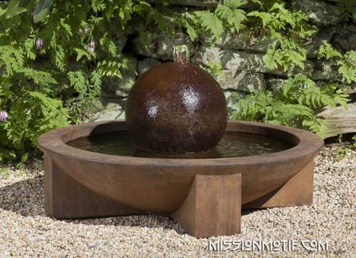 Low Zen Sphere Fountain FT-150 by Campania
