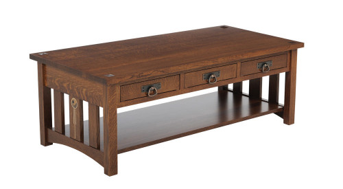 "25"" x 50"" Craftsman Coffee Table CRW-2550"