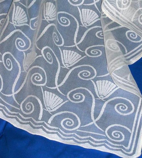 Art Deco Lace Curtains