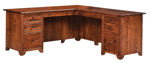 Cherry Valley Executive L Desk
