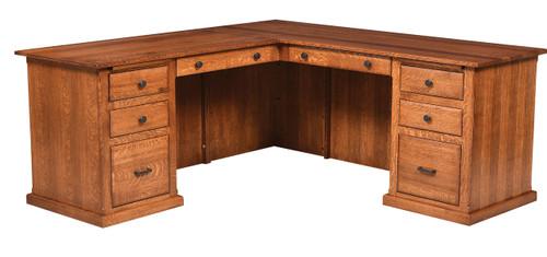 Salem Single Pedestal Desk