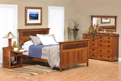 American Mission 4 piece bedroom set