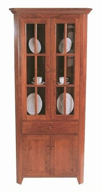 Valley Shaker Corner Hutch 31028-VV