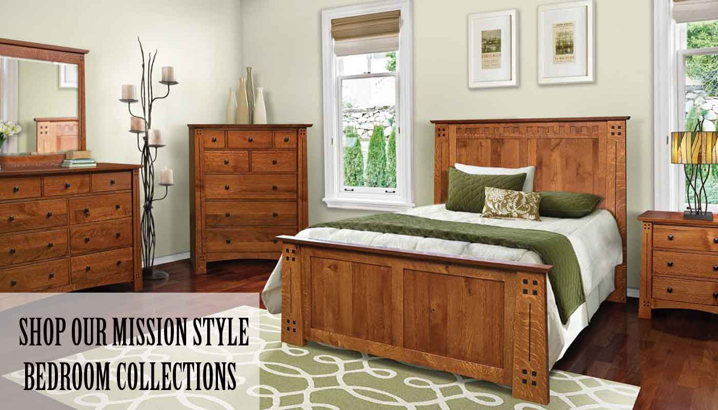 Mission style bedroom furniture - Shop Now