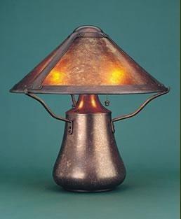 the mica lamp company mushroom lamp ml004