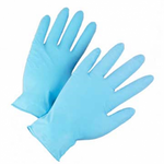 Med Powdered Nitrile Examination Glove 100/box 10bxs/cs