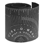"""4"""" Black Wrap-A-Round Material (price is per foot)"""