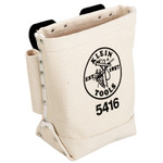 "5x9x10"" Standard Canvas Bolt Bag W/ Drift Pin Holder"