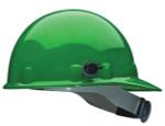 Green Thermal Plastic Hard Hat W/QuikLok and Ratchet Suspension