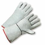 "Large 13"" Gray General Purpose Welding Glove 1dz"