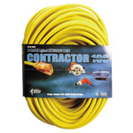 100'x12/3 Triple Tap Extension Cord with Diode End