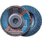"5""x5/8-11 Polifan Blending Disc 40 grit Zirc (box of 10)"
