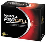 Duracell 9Volt Alkaline Battery 12/pkg