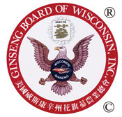 Certified by the Ginseng Board of Wisconsin Inc.®
