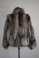 Crystal Fox Fur Jacket   Xs to XXXL