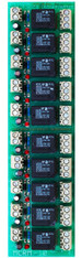 MCRM-10 ST  Multiple Channel SPDT Relay Module with Screw Terminal Blocks