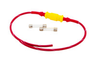 Inline Mini Fuse Holder 14AWG with 1 AMP Fuses