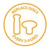 PMD Replacement Discs Blue Sensitive - 6 ct