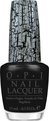 OPI Nail Polish Black Shatter .5 oz