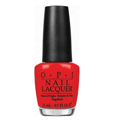OPI Nail Polish - Red My Fortune Cookie .5 oz