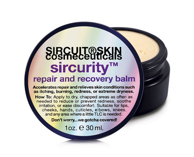 Sircuit Skin Sircurity Repair and Recovery Balm 1 oz.
