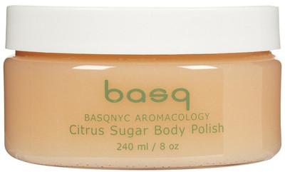 Basq Citrus Sugar Exfoliating Body Polish 8 oz