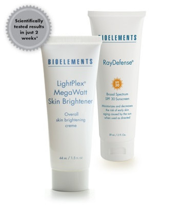 Bioelements Brilliantly Brighter Overall UV Damage Repair Kit