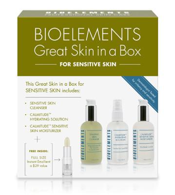 Bioelements Great Skin In A Box Starter Kit - Sensitive Skin