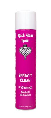 Rock Your Hair Spray it Clean Dry Shampoo 7 oz