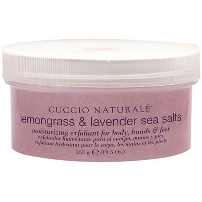Cuccio Naturale Lemongrass & Lavender Sea Salts 19.5 oz