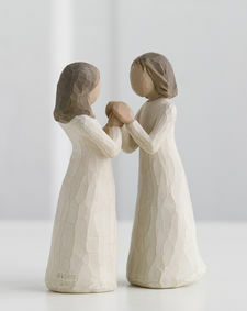 Willow Tree Figures - Sisters by Heart -  'Celebrating a treasured friendship of sharing and understanding'