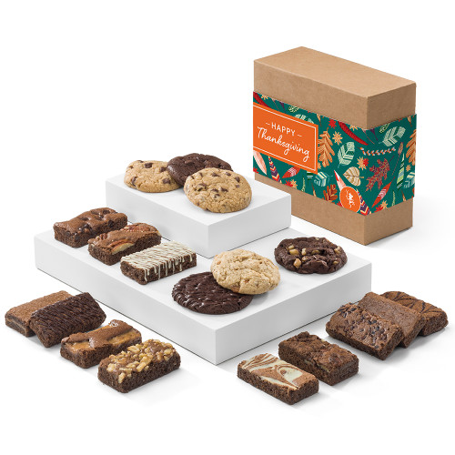 Gifts To Go Fairytale Brownies Thanksgiving Cookie & Sprite Combo
