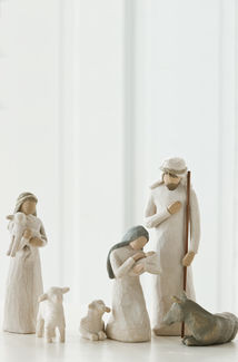 Willow Tree (R) Figures - Nativity (set of 6) -  'Behold the awe and wonder of the Christmas Story'