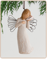 Willow Tree Nativity (R) - Thinking of You Ornament - 'Keeping you close in my thoughts'