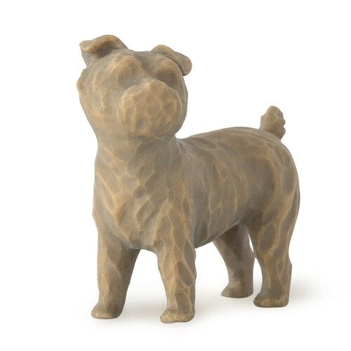 Willow Tree (R) - Love my Dog (small, standing) Front View