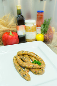 Sweet Chilli Organic Chicken and Basil Sausages