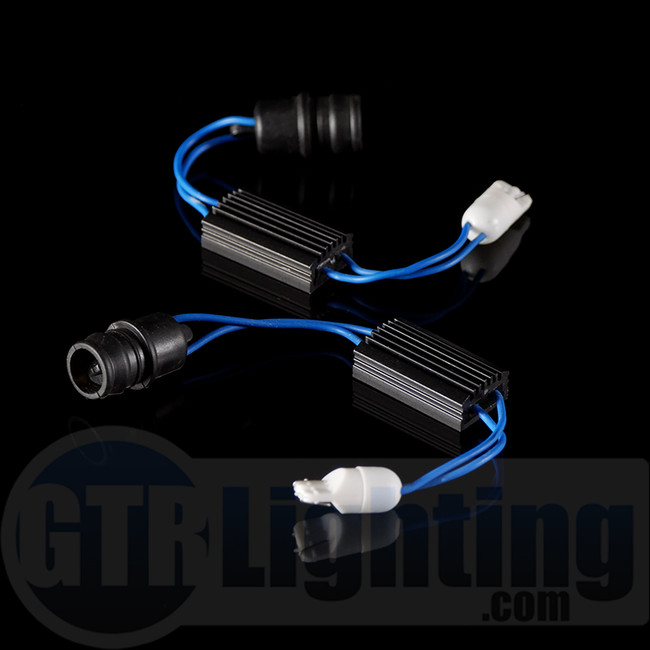 GTR Lighting Universal Mini-Resistor Kit (for small LED Bulbs), for Custom Installation