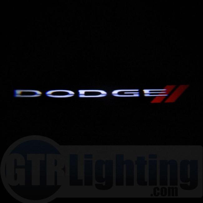 GTR Lighting LED Logo Projectors, Dodge Logo, #50