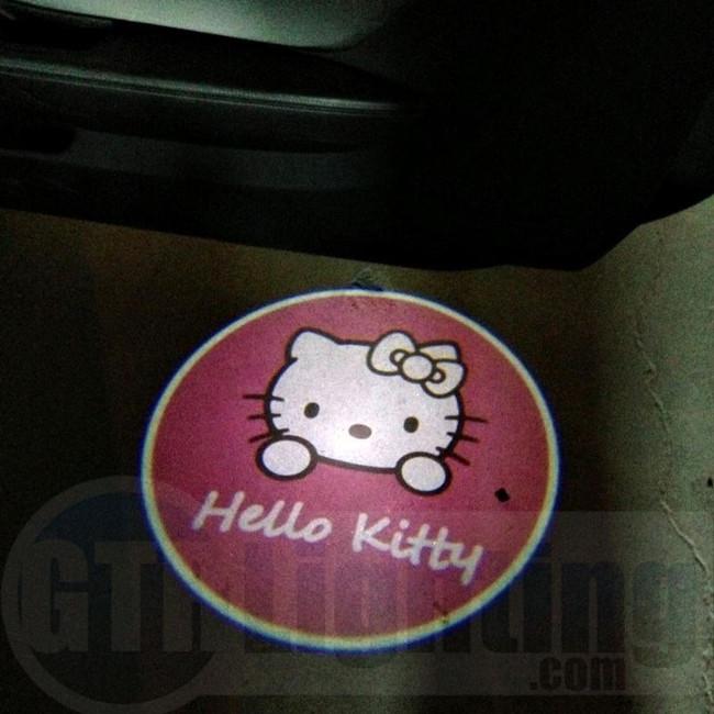 GTR Lighting LED Logo Projectors, Hello Kitty Logo, #48