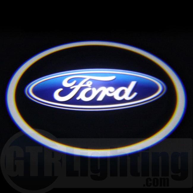 GTR Lighting LED Logo Projectors, Ford Logo, #8