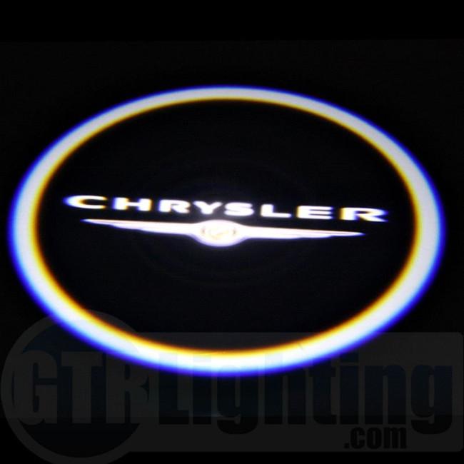 GTR Lighting LED Logo Projectors, Chrysler Logo, #15
