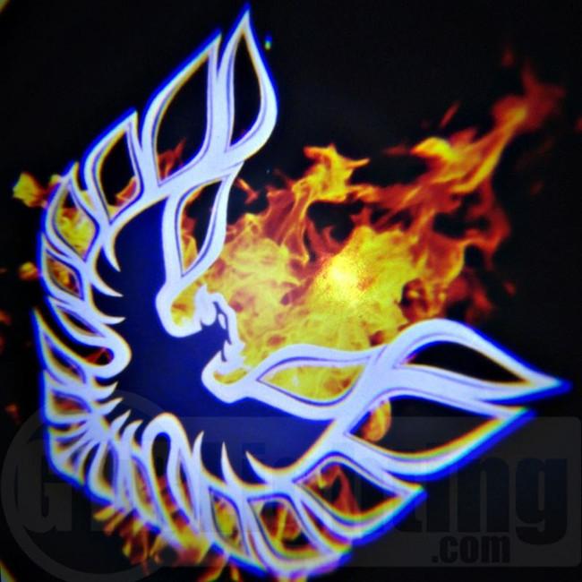 GTR Lighting LED Logo Projectors, Firebird Logo, #57