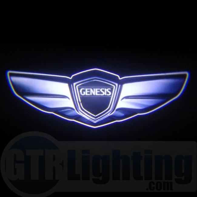 GTR Lighting LED Logo Projectors, Hyundai Genesis Logo, #62