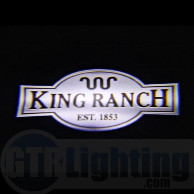 GTR Lighting LED Logo Projectors, Ford King Ranch Logo, #35